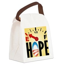 cp_hope_button Canvas Lunch Bag