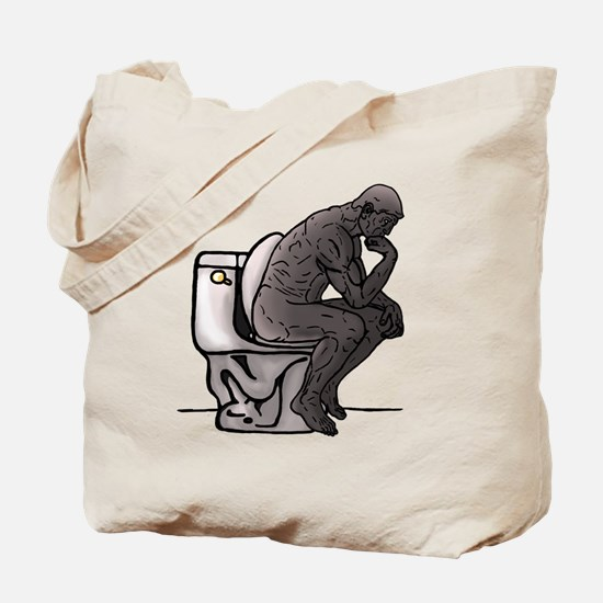 Thinking Chair Tote Bag