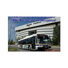 Regina803a_300dpi Rectangle Magnet