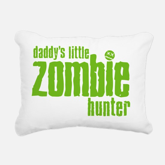 daddys little zombie hun Rectangular Canvas Pillow