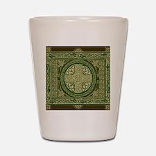 Celtic Blanket Shot Glass