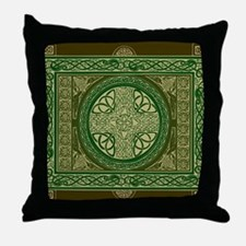 Celtic Blanket Throw Pillow