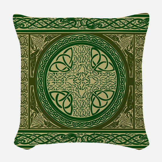Celtic Blanket Woven Throw Pillow