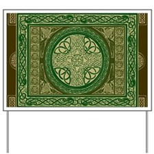 Celtic Blanket Yard Sign