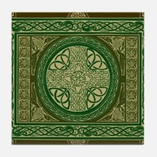 Celtic Blanket Tile Coaster