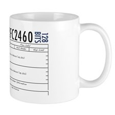 IPv6 plus header Mug