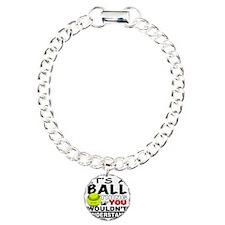 ball Charm Bracelet, One Charm