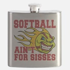 softball sisses(blk) Flask