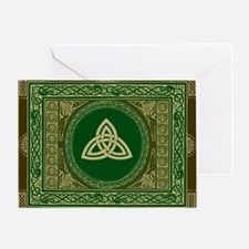 Celtic Blanket Greeting Card