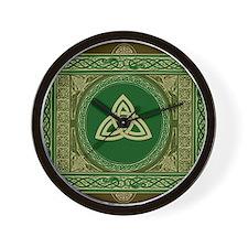 Celtic Blanket Wall Clock