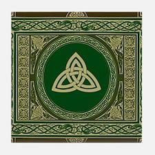 Celtic Blanket Tile Coaster