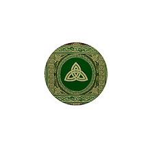Celtic Blanket Mini Button
