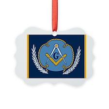 Masonic Blanket Ornament