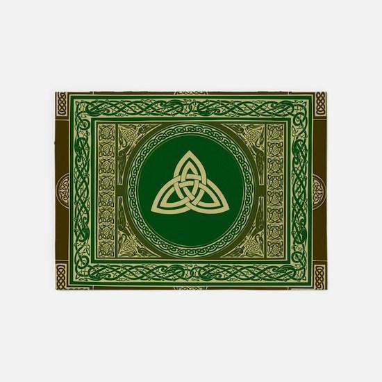 Celtic Blanket 5'x7'Area Rug