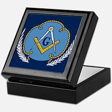 Masonic Blanket Keepsake Box