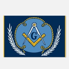 Masonic Blanket Postcards (Package of 8)