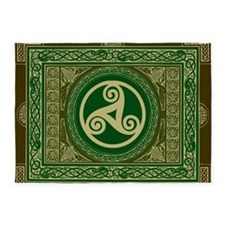 Celtic Blanket 5'x7'Area Rug