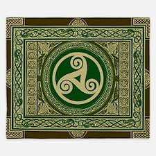Celtic Blanket King Duvet