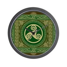 Celtic Blanket Wall Clock