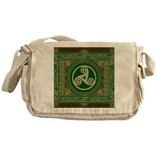 Celtic Blanket Messenger Bag