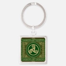Celtic Blanket Square Keychain