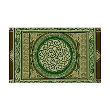 Celtic Blanket Rectangle Car Magnet