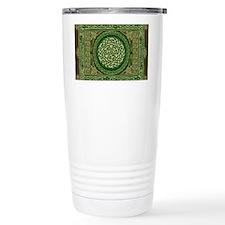 Celtic Blanket Travel Coffee Mug