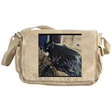 Halloween Cat Messenger Bag