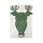 Celtic Stag Rectangle Magnet (10 pack)