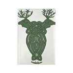 Celtic Stag Rectangle Magnet (100 pack)