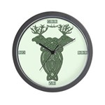 Celtic Stag Wall Clock