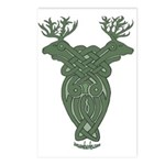 Celtic Stag Postcards (Package of 8)