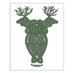 Celtic Stag Small Poster