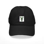 Celtic Stag Black Cap