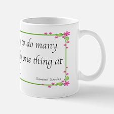 Samuel Smiles Mug