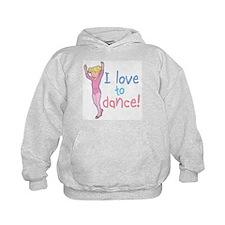 Love Dance Ballet Girl 4 Hoodie