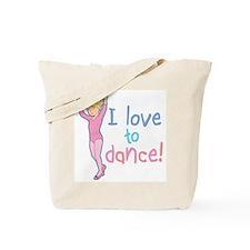 Love Dance Ballet Girl 4 Tote Bag