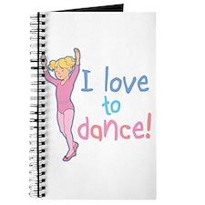 Love Dance Ballet Girl 4 Journal