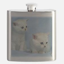 Kittens 9W054D-267 Flask