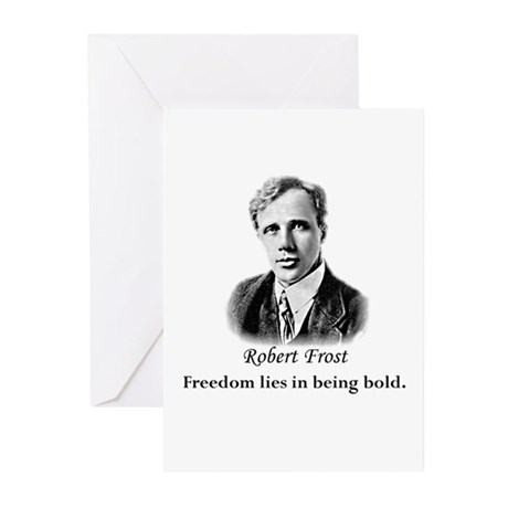 Literary Robert Frost Poetry Greeting Cards (Packa