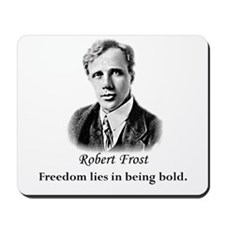 Literary Robert Frost Poetry Mousepad