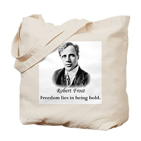 Literary Robert Frost Poetry Tote Bag
