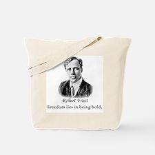Literary Robert Frost Poetry Tote Bag