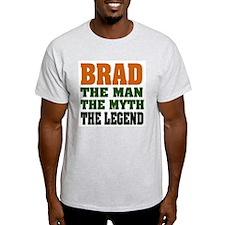 BRAD - the legend Ash Grey T-Shirt