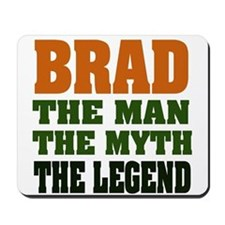 BRAD - the legend Mousepad