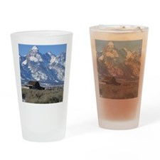 Copy of Tetons 021a Drinking Glass