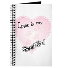 Love is Great Pyr Journal