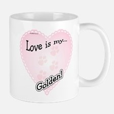 Love is Golden Mug
