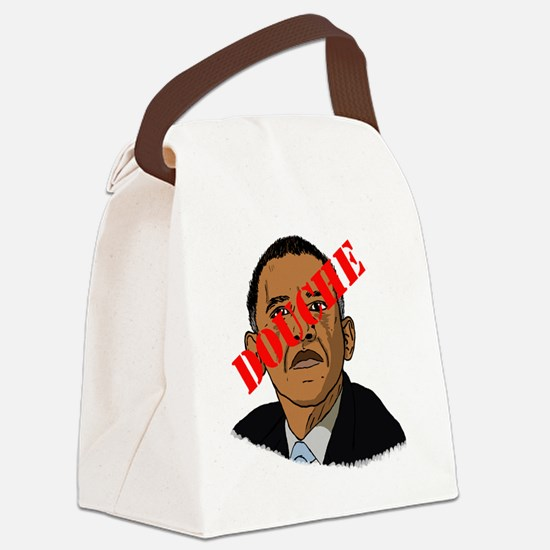 Obama Douche Canvas Lunch Bag