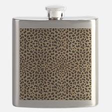 blanketleopardprint Flask